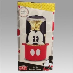 Disney MICKEY MOUSE Mini stir popcorn Popper